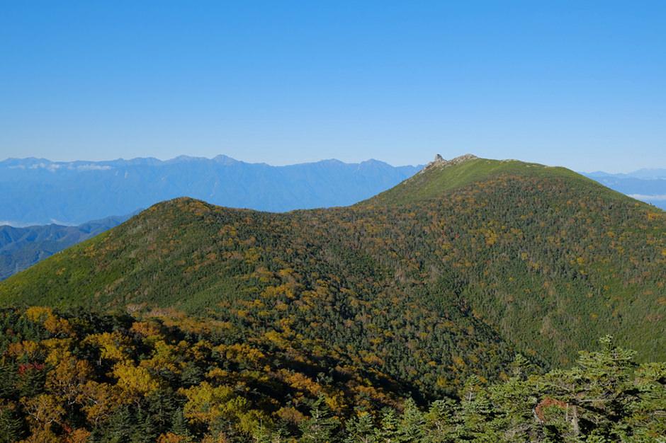 金峰山の紅葉