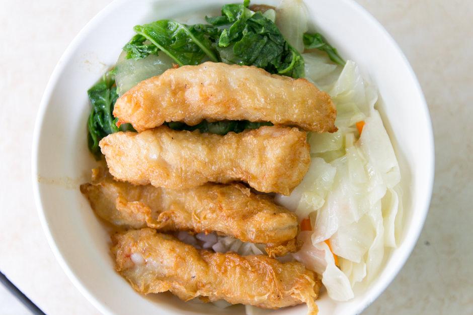 金仙魚丸分店の蝦捲飯