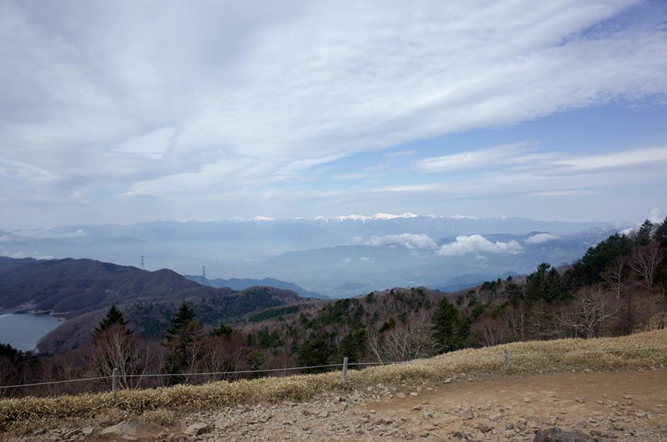 大菩薩嶺から望む南アルプス