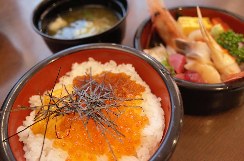 小樽の旭鮨の特選ちらし