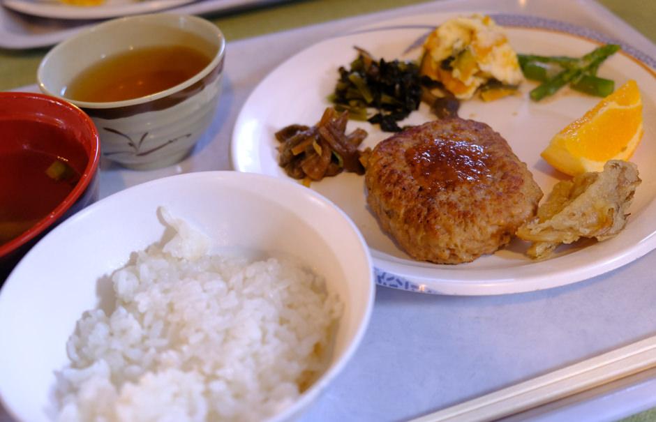 白馬山荘の夕食