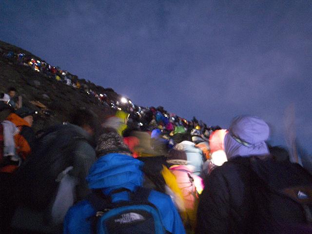 富士山渋滞