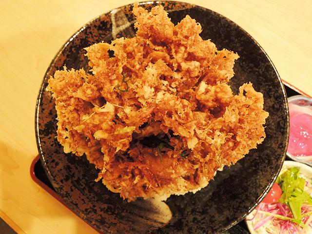 裕次郎の桜海老のかきあげ丼