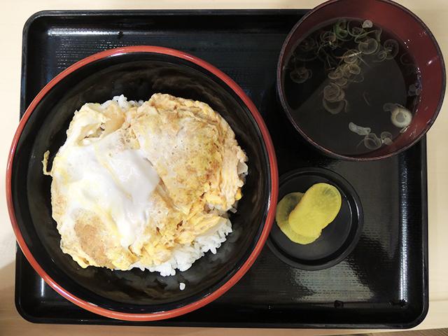 富士そばのかつ丼