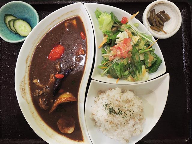 元気野菜の薬膳スープカレー