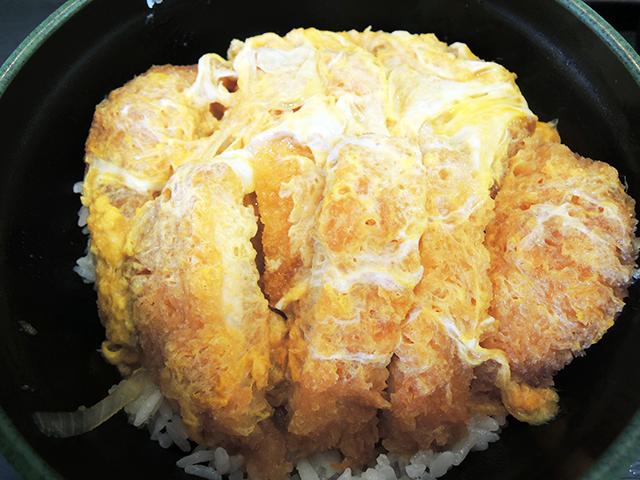 ゆで太郎のWかつ丼