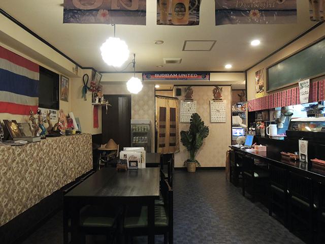 おりえんたる食堂味庵の店内