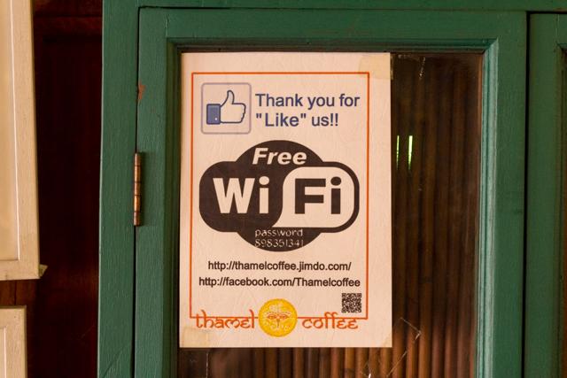Thamel CoffeeのFree Wi-Fi