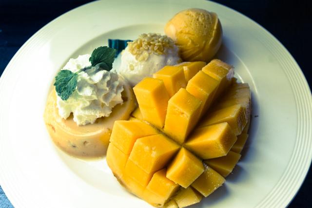 Mango Tango + Extra Sticky Rice
