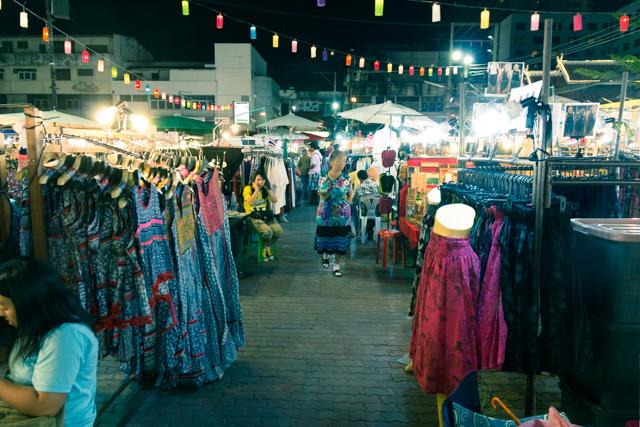 チェンマイのナイトマーケット