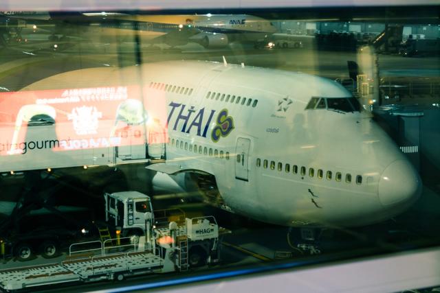 タイ国際航空のTG661