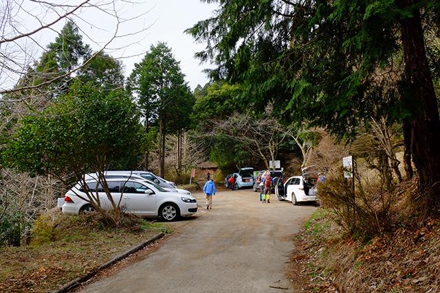 表丹沢県民の森駐車場