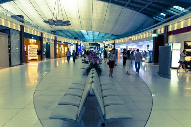 スワンナプーム国際空港の免税店