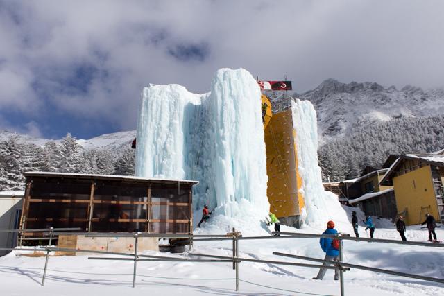 赤岳鉱泉のアイスキャンディー