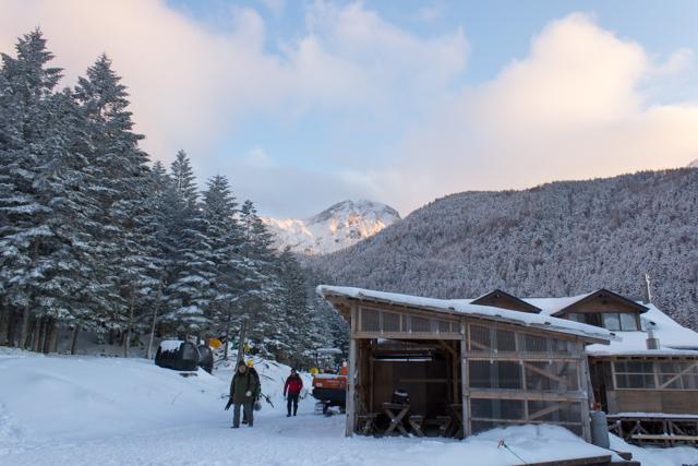 赤岳鉱泉からの赤岳