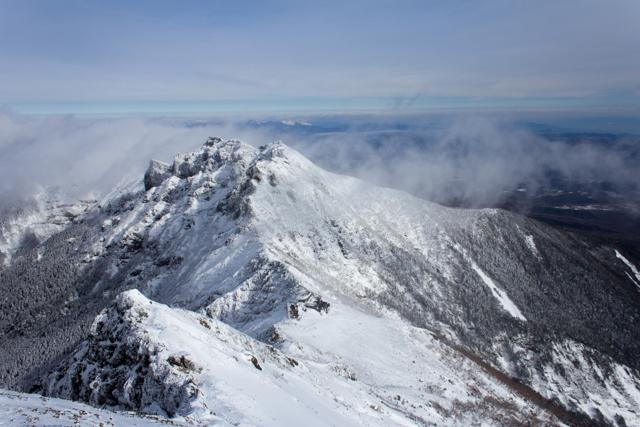 赤岳からの横岳