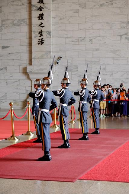 中正紀念堂の儀仗隊