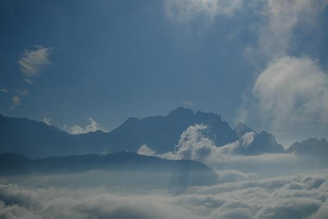 剱岳と雲海