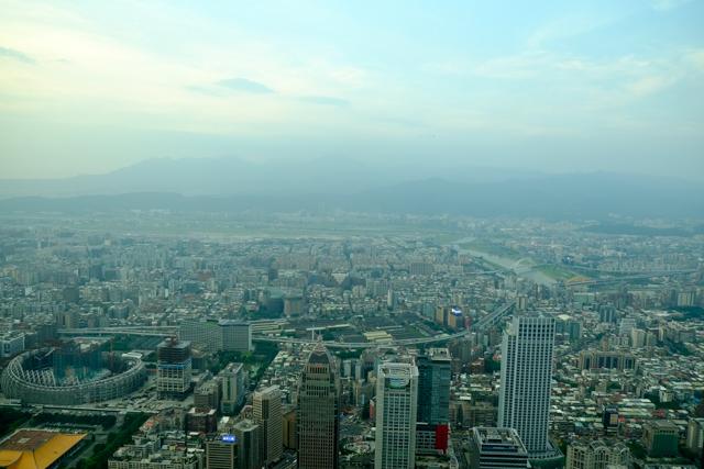 台北101展望台からの景色