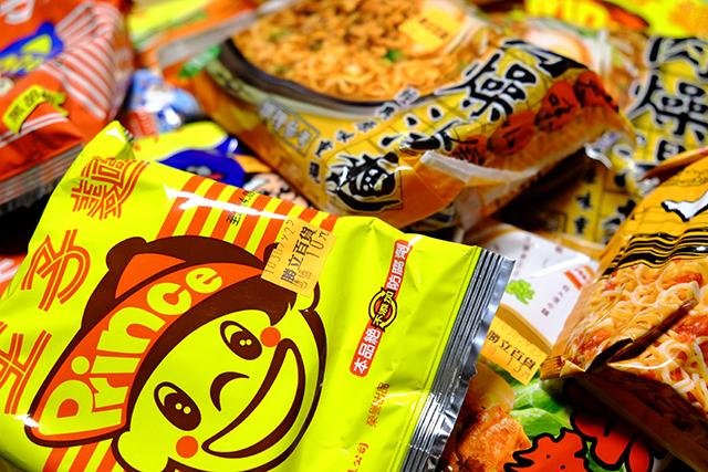 台湾の袋麺