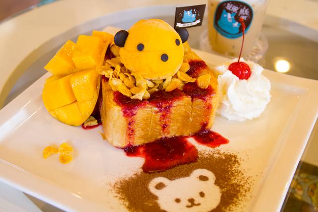 Bear Hug CafeのSweet & Summer Toast