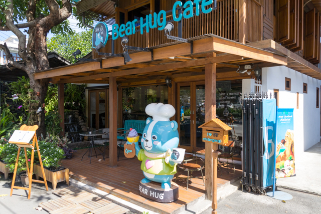 Bear Hug Cafeの外観