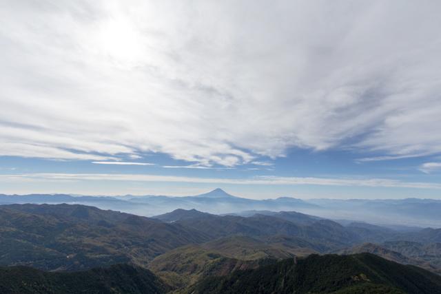金峰山からの富士山