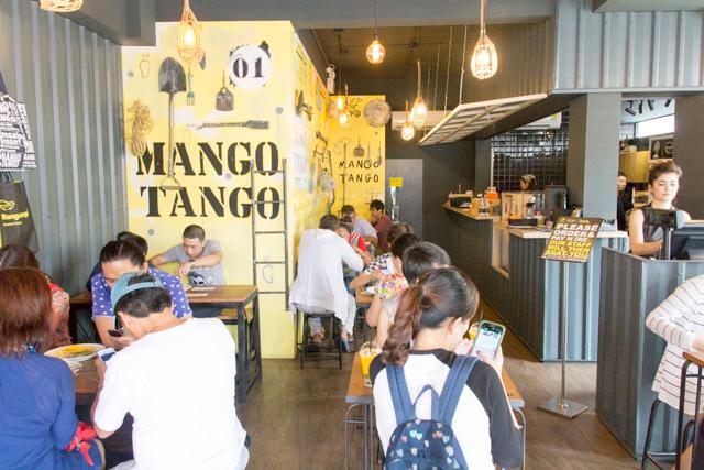 Mango Tangoの店内