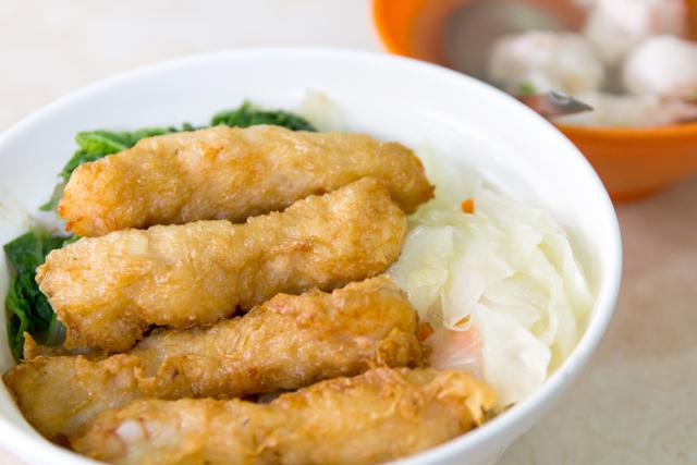 金仙魚丸分店の蝦捲