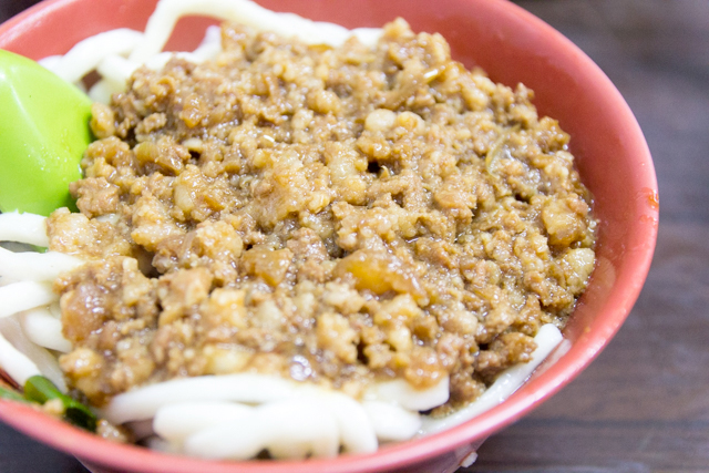老牌牛肉拉麵大王の炸醤拉麺