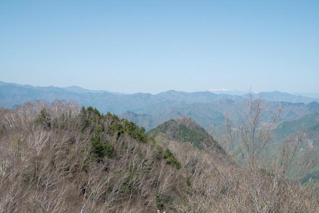 両神山山頂からの景色
