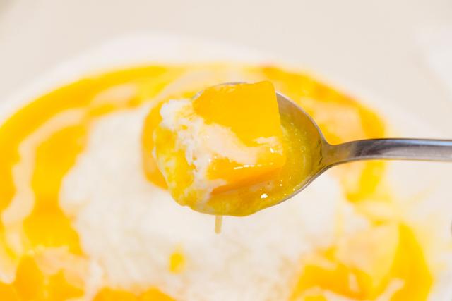 King Mango(芒果皇帝)のマンゴーかき氷