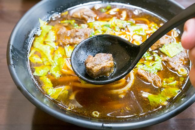 飄香牛肉麵の牛肉麺