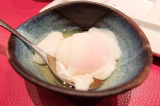 串の坊の温泉卵
