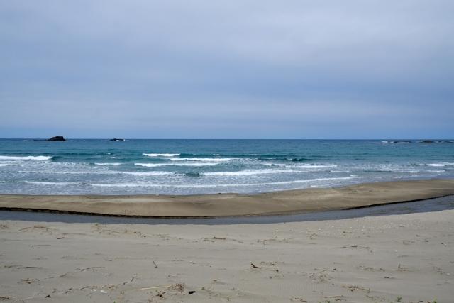 珠洲の砂浜