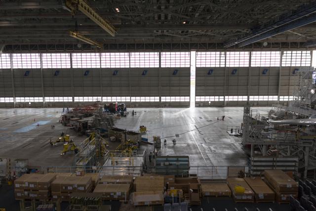 ANA整備工場