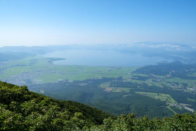 磐梯山山頂