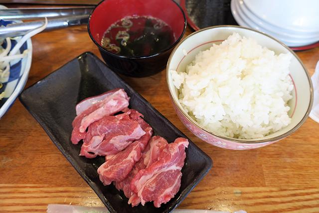 羊羊のランチセットのご飯