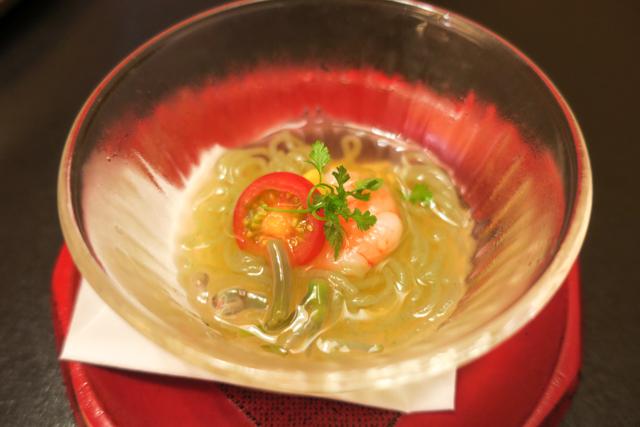 たか福のすき焼き定食の前菜