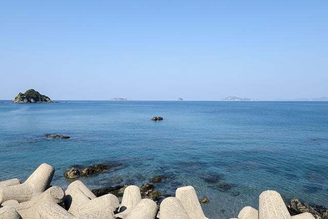 野母半島の海