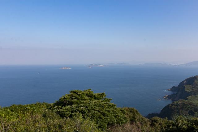 権現山展望台からの眺め