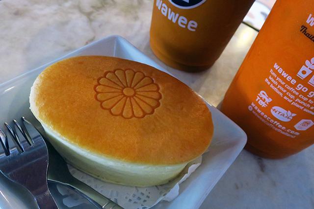 WaweeCoffee ジャパニーズチーズケーキ
