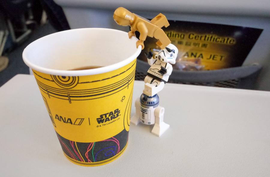 C-3PO ANA JETの紙コップ