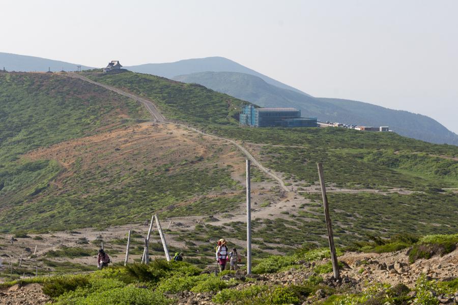 蔵王山登山