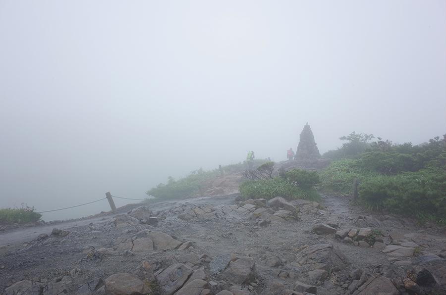 唐松岳第2ケルン