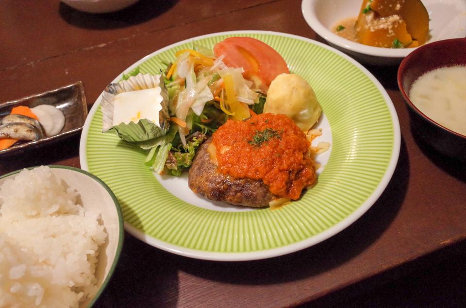 こもれび山荘の夕食