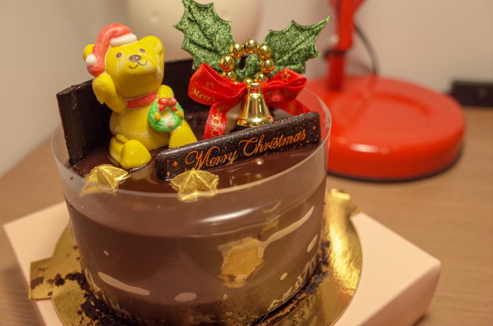 新光三越で買ったクリスマスケーキ