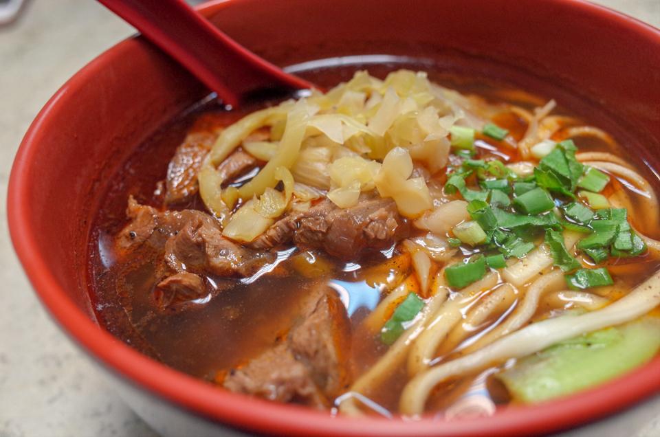 全家川味の牛肉麺