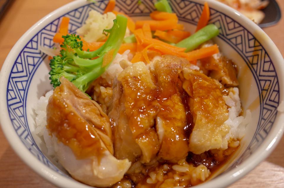 吉野家の雞丼