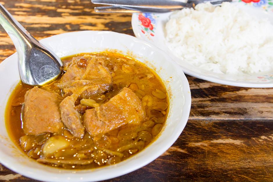 トーンのミャンマー式カレー